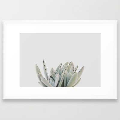 "succulent 03 - 38"" X 26"" - framed - Society6"
