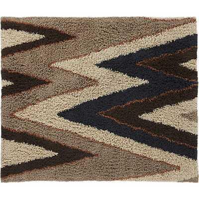 vibrations shag rug 8'x10' - CB2