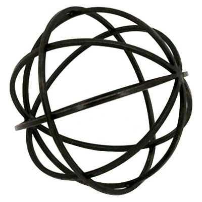 Tabletop Metal Orb Medium - Target
