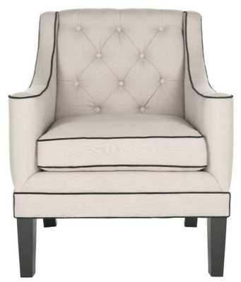 Sherman Arm Chair - Domino
