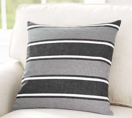 """La Jolla Stripe Pillow Cover, 18"""", no insert - Pottery Barn"""