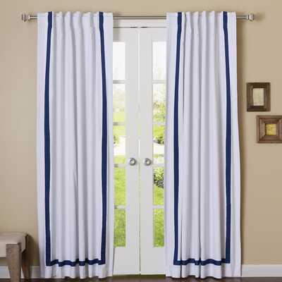 Grosgrain Ribbon Curtain Panel set of 2 - AllModern