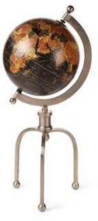 "21"" Globe with Industrial Stand - One Kings Lane"