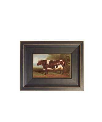 Framed Prize Heifer - High Street Market