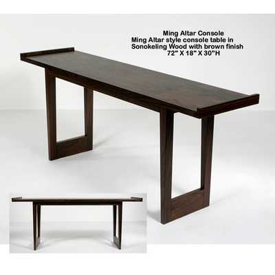 Ming Altar Console Table - AllModern