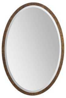 Diane Accent Mirror, Gold - One Kings Lane