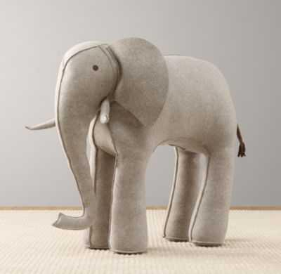 Oversized wool felt elephant - RH Baby & Child