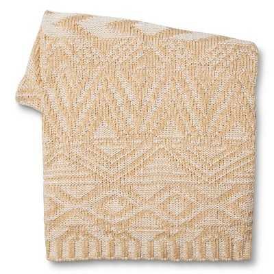 "Thresholdâ""¢ Southwest Sweater Knit Throw - Target"