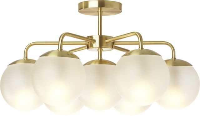 Vega flush mount lamp - CB2