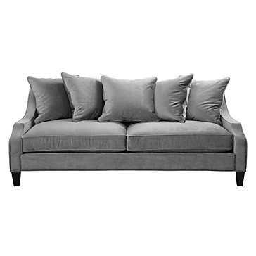 Brighton Sofa Charcoal - Z Gallerie