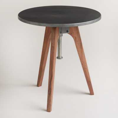Round Eslynn Swivel Accent Table - World Market/Cost Plus