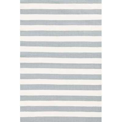 """Trimaran Stripe Light Indoor/Outdoor Area Rug - 8'6"""" x 11"""" - Wayfair"""