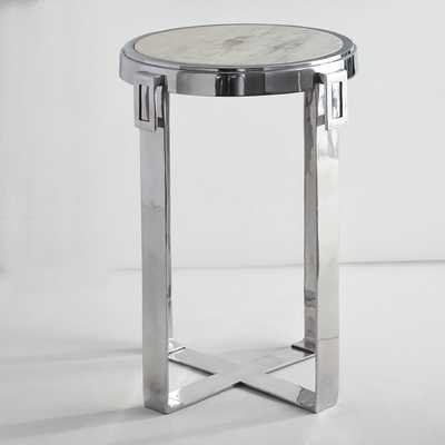 Marble Top Side Table - Wisteria