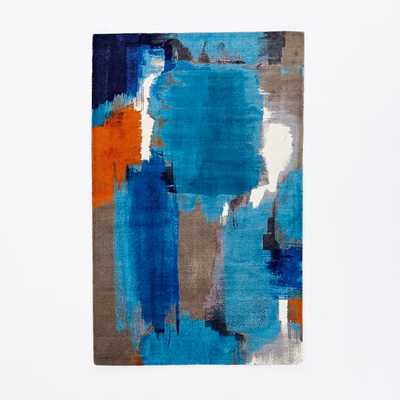 Abstract Painting Rug - 6' x 9' - West Elm