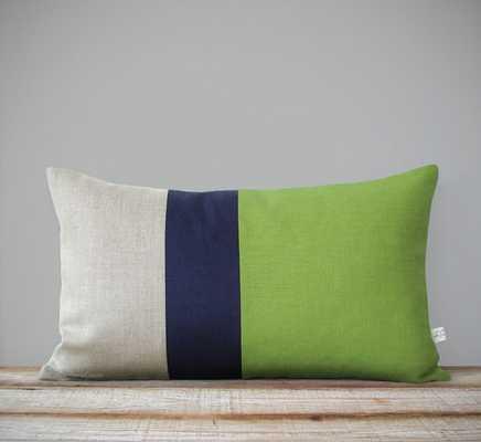 Color Block Stripe Pillow Cover - 12x20 - No Insert - Etsy