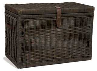 Wicker Storage Trunk - One Kings Lane