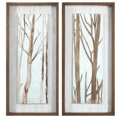 Tree Focus Framed Print - Wayfair
