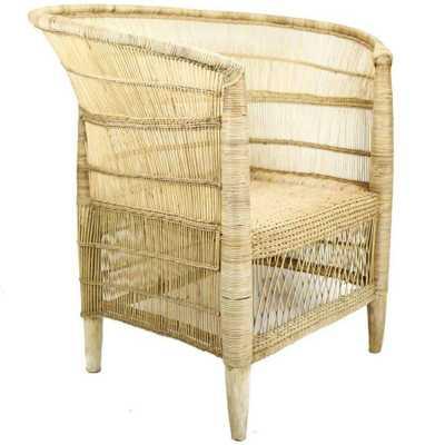 Woven Armchair - Domino