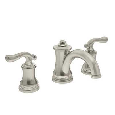 Winslet Double Handle Deck Mounted Widespread Bathroom Faucet - AllModern
