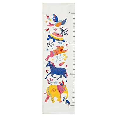 Wild Palette Growth Chart - Land of Nod