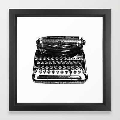 Remington Typewriter - Society6