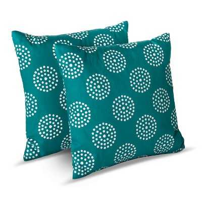 Circle Dot Toss Pillows - Target