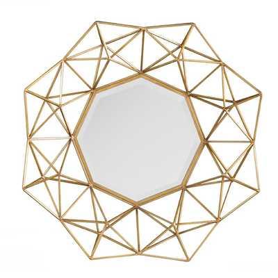 Carmelo Wall Mirror - AllModern