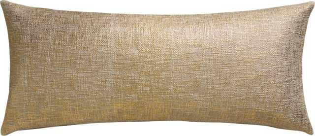 Glitterati pillow - 36x16 - With Insert - CB2