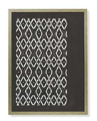 Katagami Prints - A, 29x39, Framed - Williams Sonoma Home