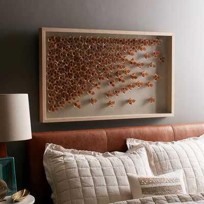 Nature of Wood Wall Art - 40x24, Framed - West Elm