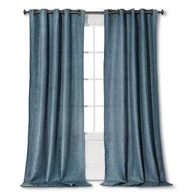"Thresholdâ""¢ Basketweave Curtain Panel - 95"" - Target"