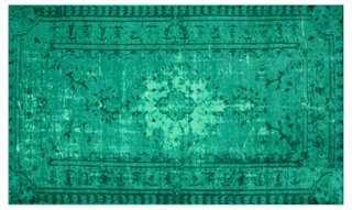 Bess Rug, Emerald - One Kings Lane