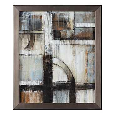 Existence 2 - 22.75''W x 26.25''H - Framed - Z Gallerie