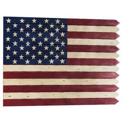 Americana Flag Wall Décorby Evergreen Flag & Garden - Wayfair