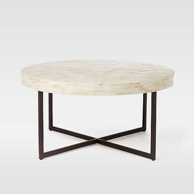 Low Bone Coffee Table - West Elm