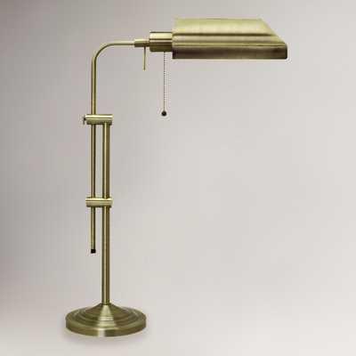 Chemist's Table Lamp, Antique Brass - World Market/Cost Plus