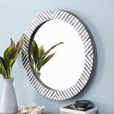 Parsons Round Mirror - West Elm
