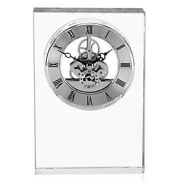 Crystal Table Clock - Z Gallerie