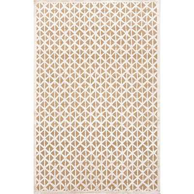 Fables Taupe/Ivory Area Rug - AllModern