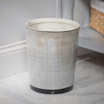 Harmon Porcelain Waste Basket - Birch Lane