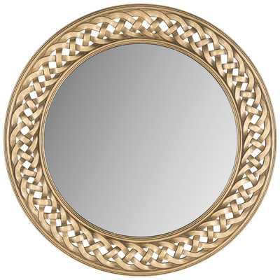 Braided Chain Wall Mirrorby Safavieh - Wayfair