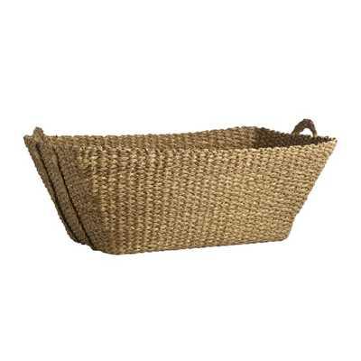 Braided French Laundry Basket - West Elm