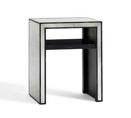 MARNIE MIRRORED SIDE TABLE - Pottery Barn