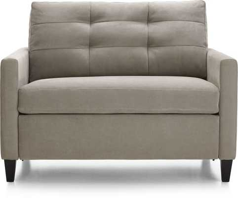 Karnes Twin Sleeper Sofa - Crate and Barrel