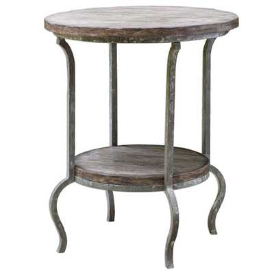 Driftwood Modern Accent Table - myswankyhome.com