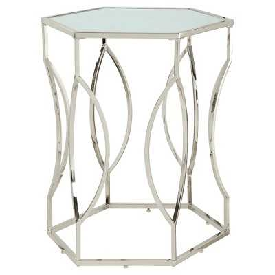 Alverne Hexagonal Accent Table - Target