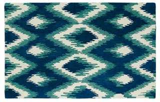 Yendi Rug, Blue - One Kings Lane