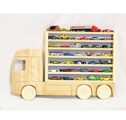 Wooden Truck Hanging Storage Display Shelf for Hot Wheels and Matchbox Cars - Etsy