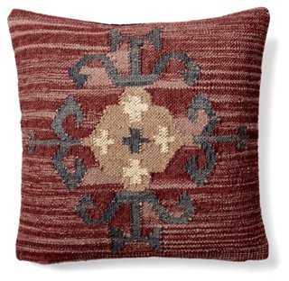 Kilim 20x20 Wool-Blend Pillow - One Kings Lane