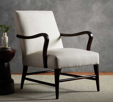 Emilia Upholstered Armchair - Pottery Barn